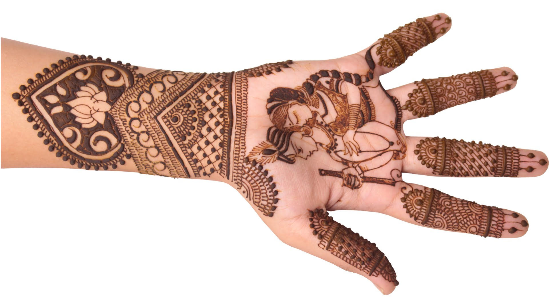 Karwa Chauth Mehndi Designs