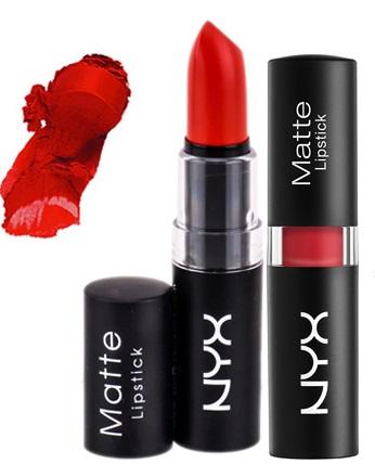 NYX Matte Lipstick Perfect Red