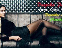 Deepika Padukone Hello Magazine India 2016 December Photoshoot