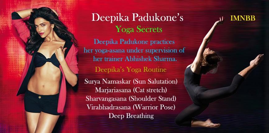 Deepika Padukone Yoga Secrets