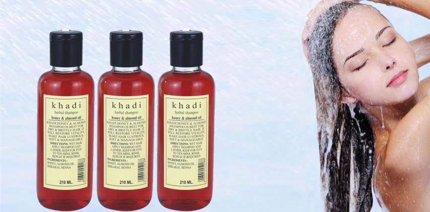Khadi Herbal Honey and Almond Oil Shampoo Review