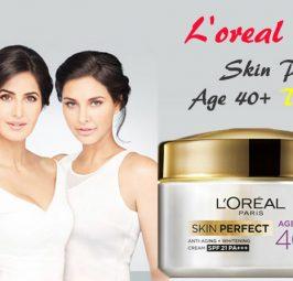 L'Oreal Paris Skin Perfect Age 40+ Day Cream Review