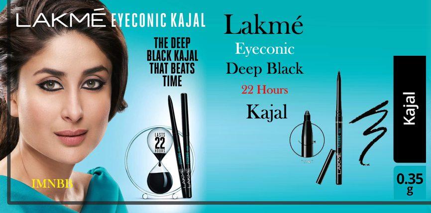 Lakme Eyeconic Kajal Deep Black 22 Hours Review