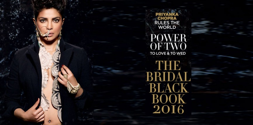 Priyanka Chopra Turns Cover Girl For Harper's Bazaar Bride India