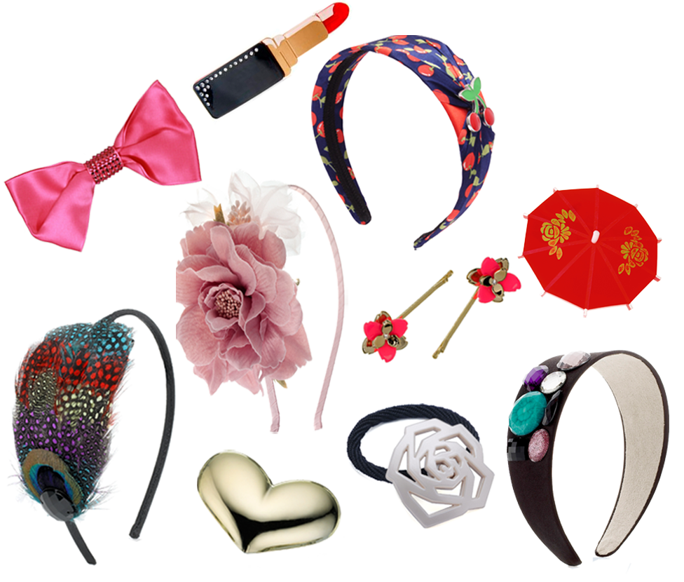 Hair Accessories For Summer.