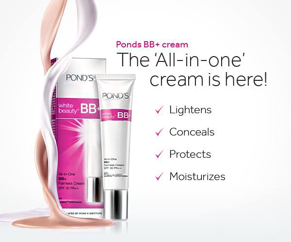 Pond's White Beauty BB + All-in-One Fairness Cream
