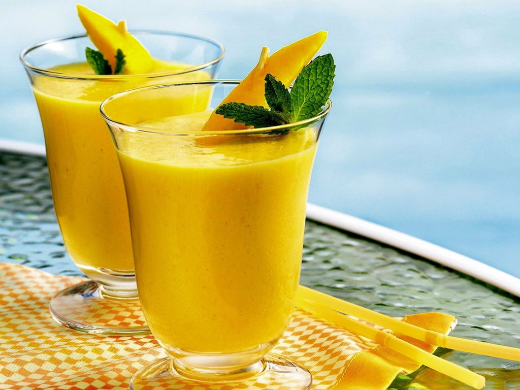 Summer Drink - Mango Juice