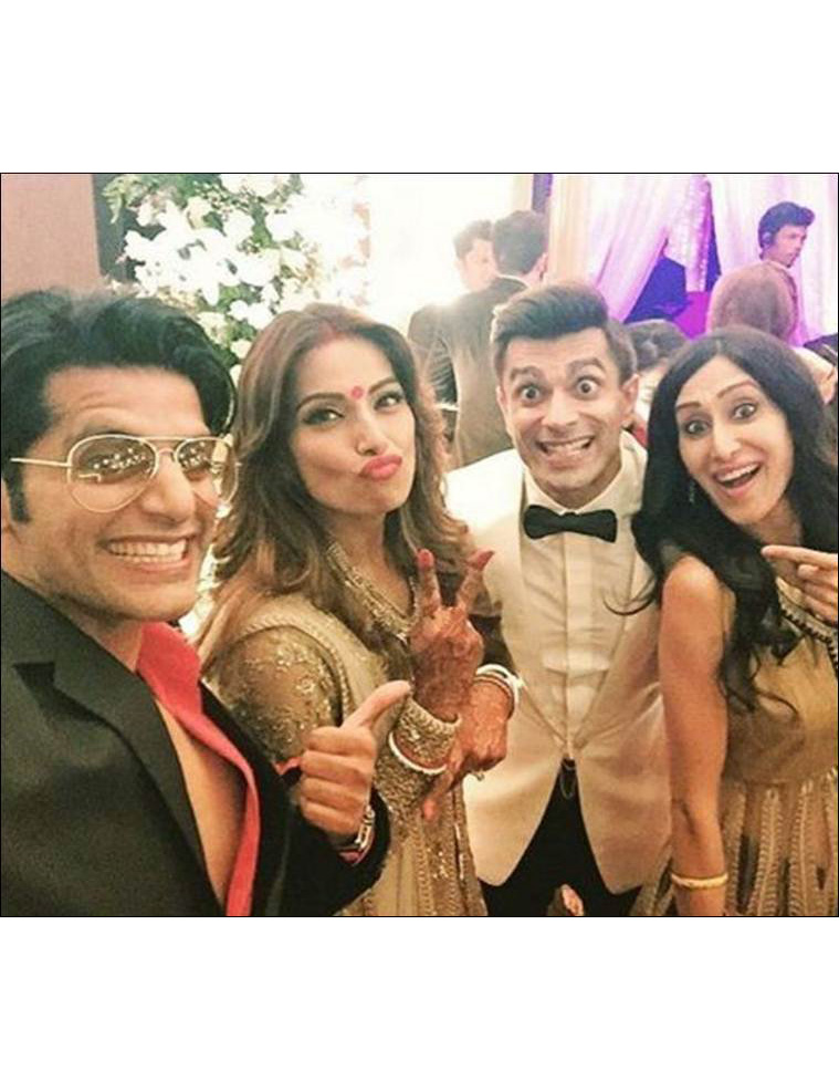 Bipasha Basu And Karan Singh Grover's Wedding Reception