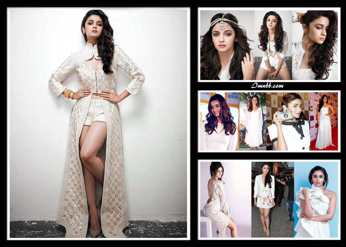 Alia Bhatt in White