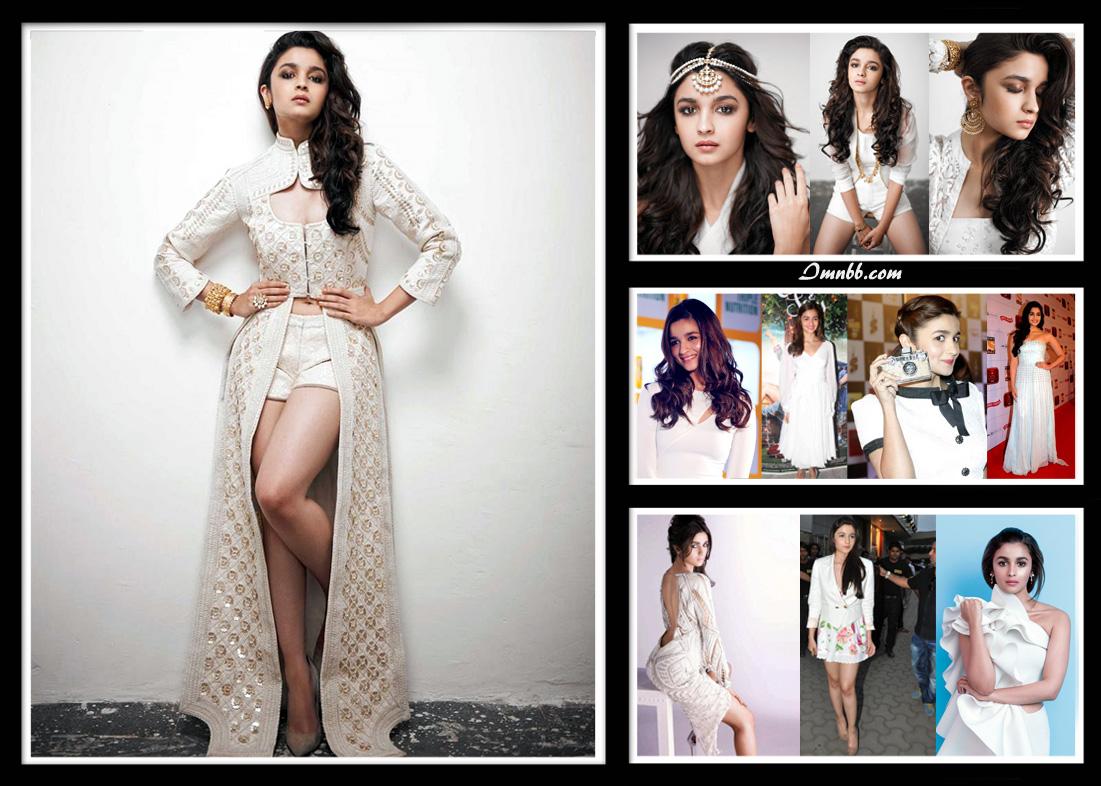Alia Bhatt in White