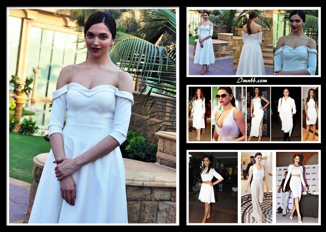 Deepika Padukone in White