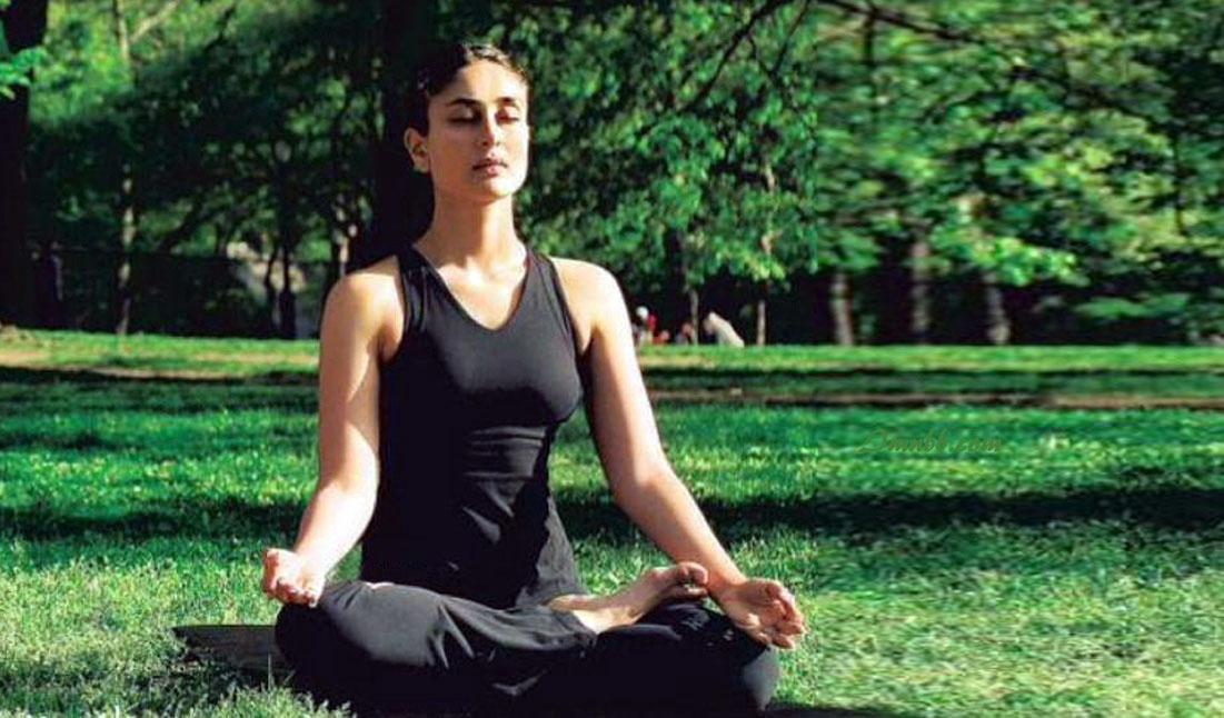 Kareena Kapoor Yoga