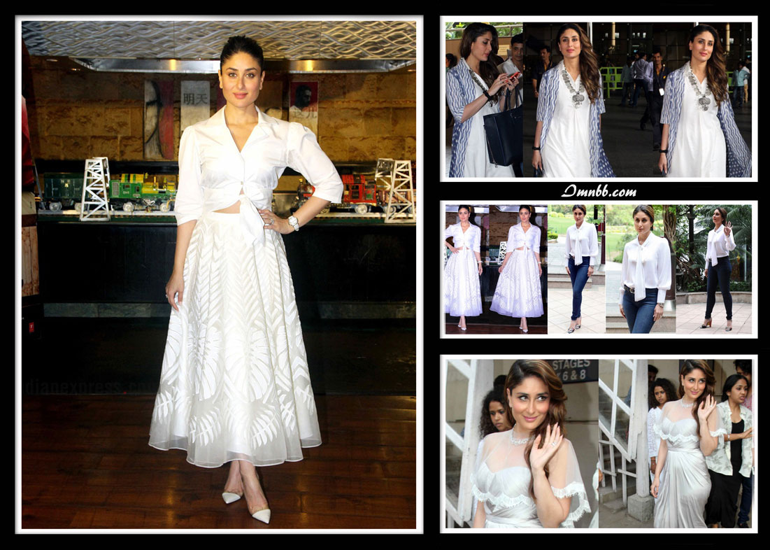 Kareena Kapoor in White
