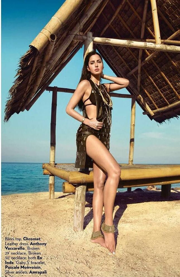 Katrina Kaif Hot Vogue Bikini Photoshoot June 2016