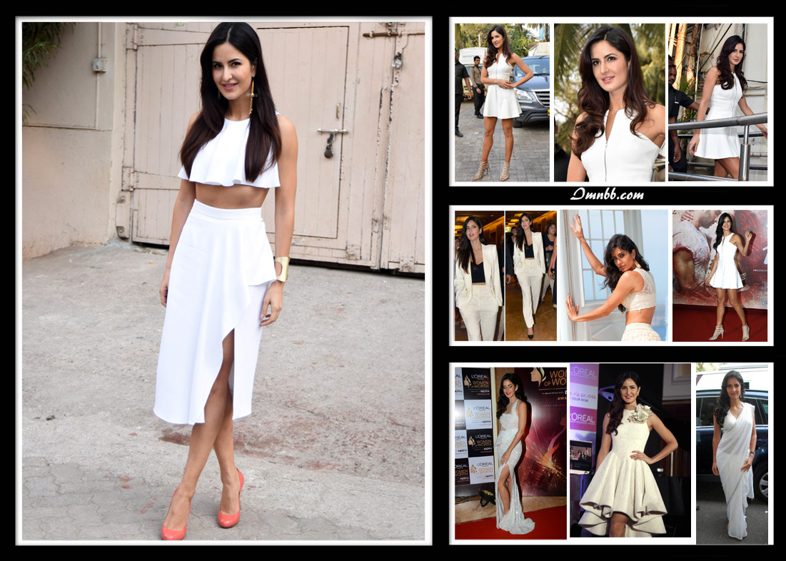 Katrina Kaif in White