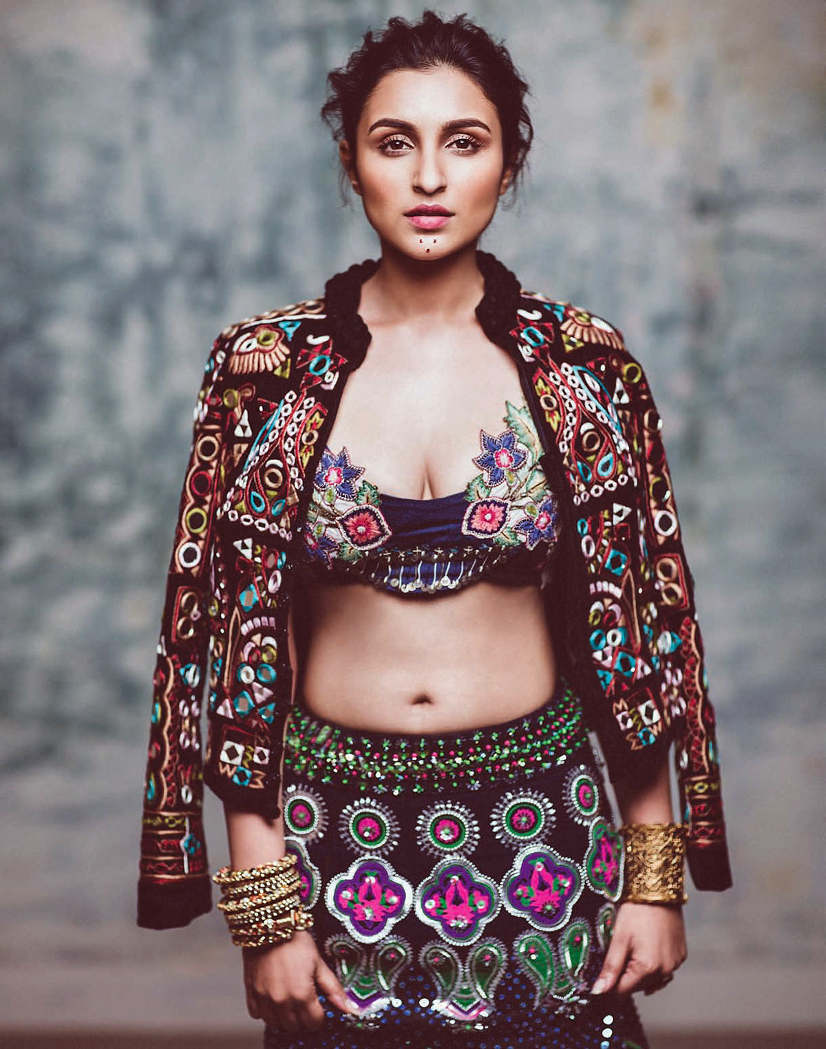 Parineeti Chopra Hot Harper's Bazaar Bride Photoshoot