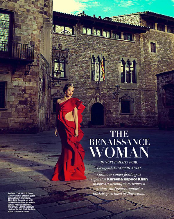 Sizzling Kareena Kapoor Khan On Harper's Bazaar Bride