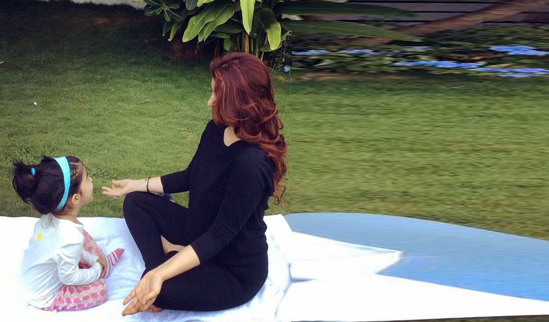 Twinkle Khanna Yoga