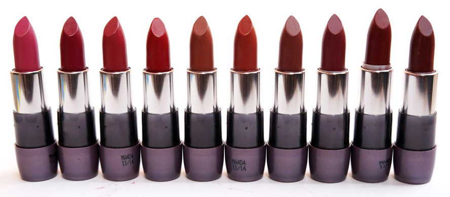 Oriflame The One Matte Lipstick Swatches & Shades