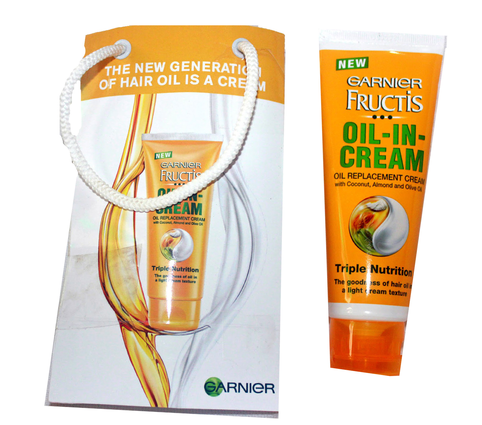 Garnier Fructis Oil In Cream