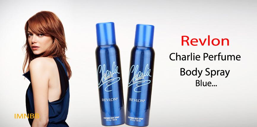 Revlon Charlie Perfume Body Spray Blue