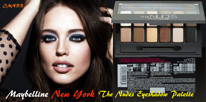 Maybelline New York The Nudes Eyeshadow Palette Review
