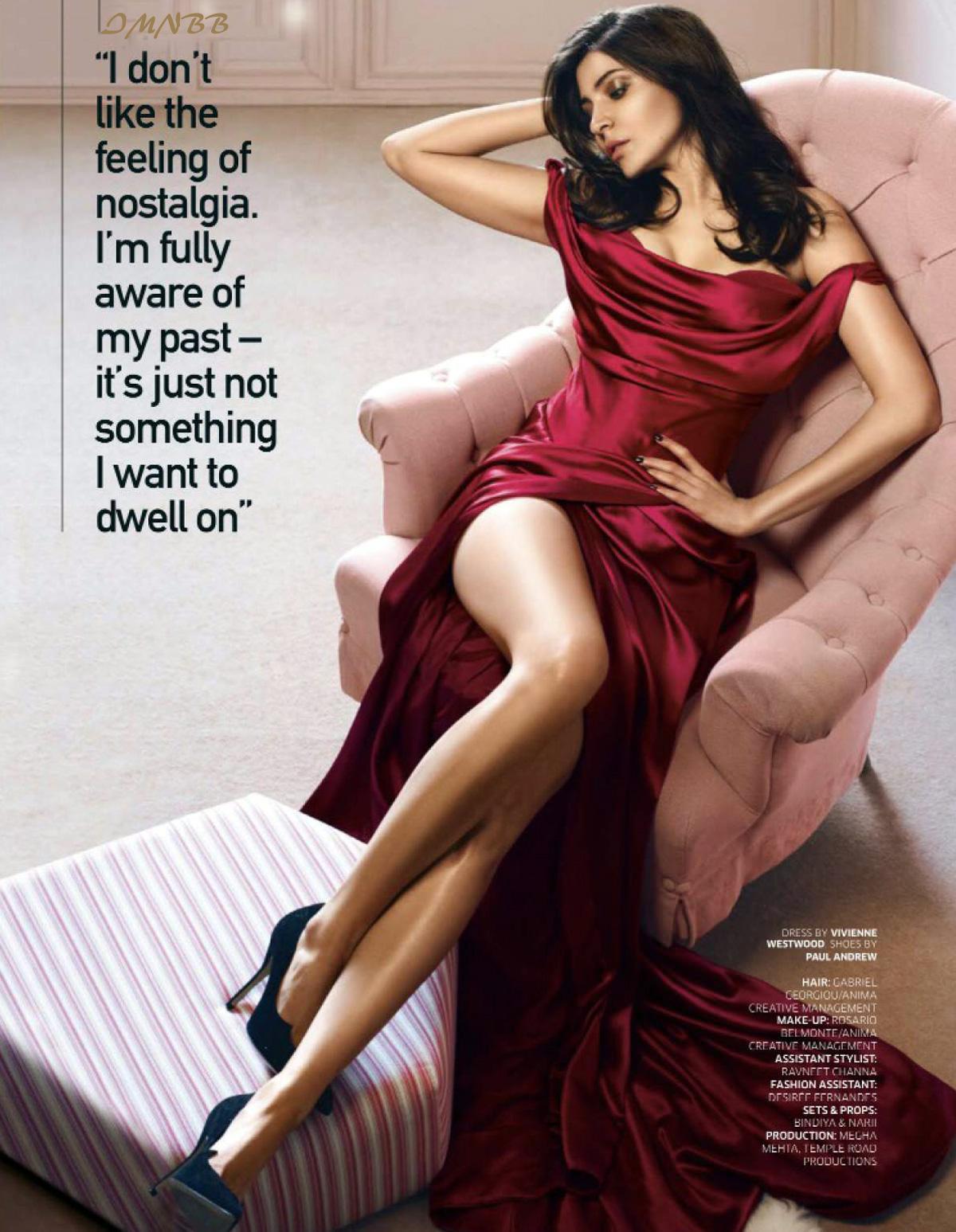 Anushka Sharma GQ India 2016 December Magazine Photoshoot