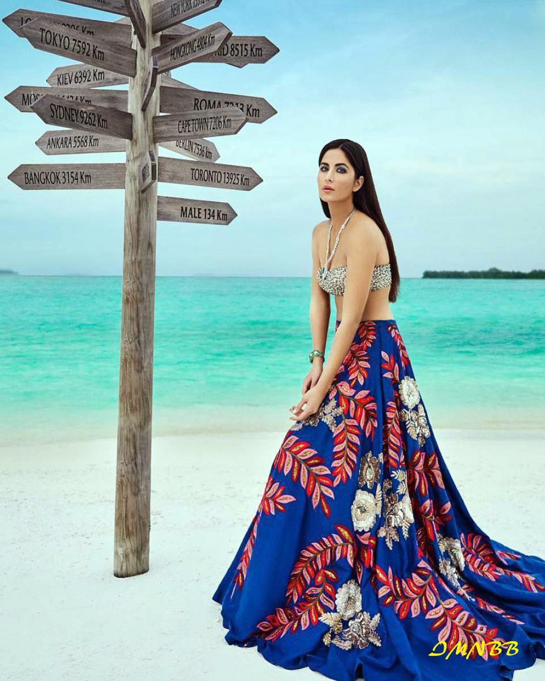 Sizzling Katrina Kaif Harper's Bazaar Bride 2017 January Photo Shoot