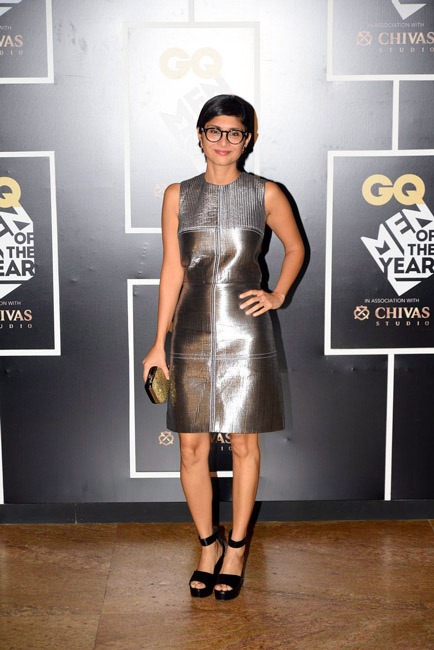 Celebrities Wearing Metallics This Party Season - Kiran Rao