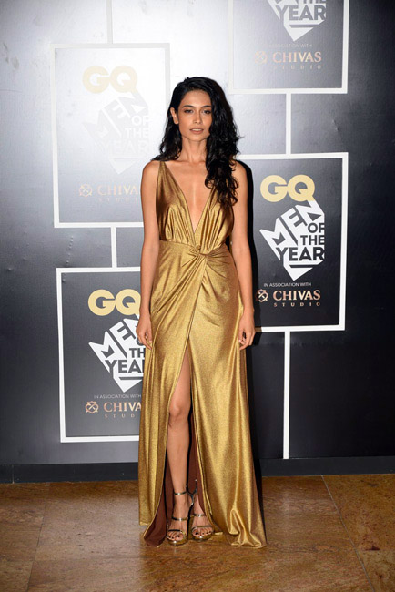 Celebrities Wearing Metallics This Party Season - Sarah-Jane Dias