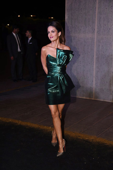 Celebrities Wearing Metallics This Party Season - Natasha Poonawalla