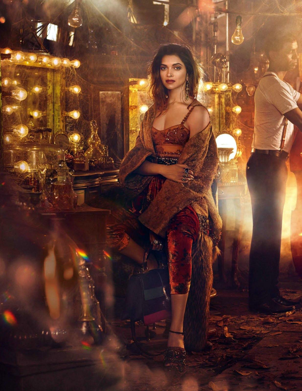 Deepika Padukone Vogue India Photoshoot