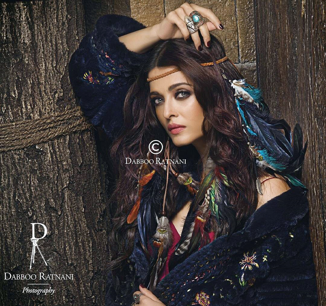 Aishwarya Rai Photoshoot For Dabboo Ratnani Calendar 2017