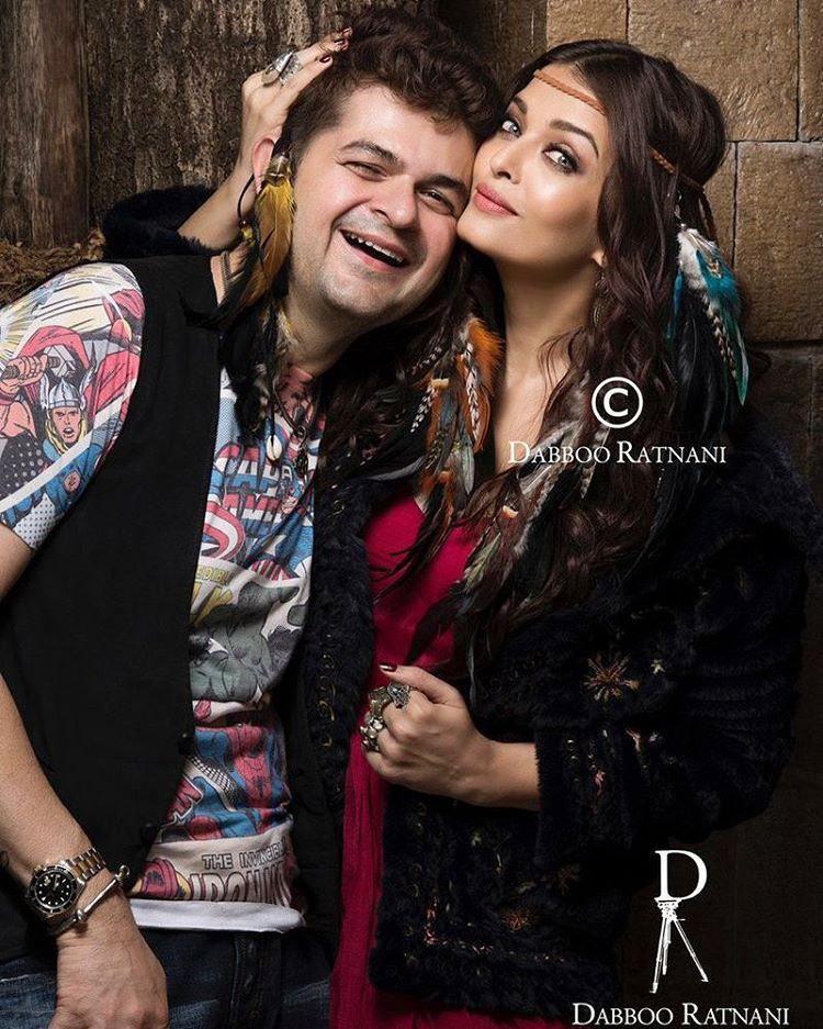Aishwarya Rai Photoshoot For Dabboo Ratnani Calendar 2017