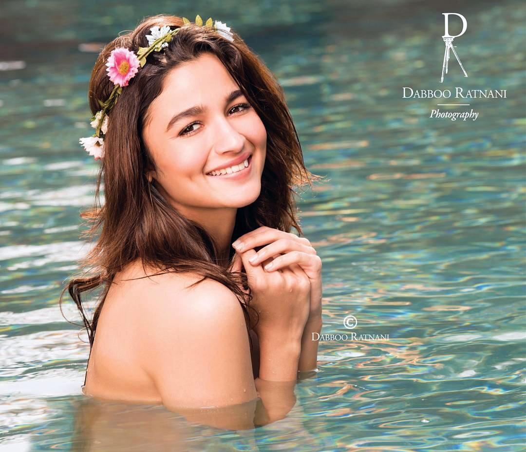 Alia Bhatt Photoshoot For Dabboo Ratnani Calendar 2017