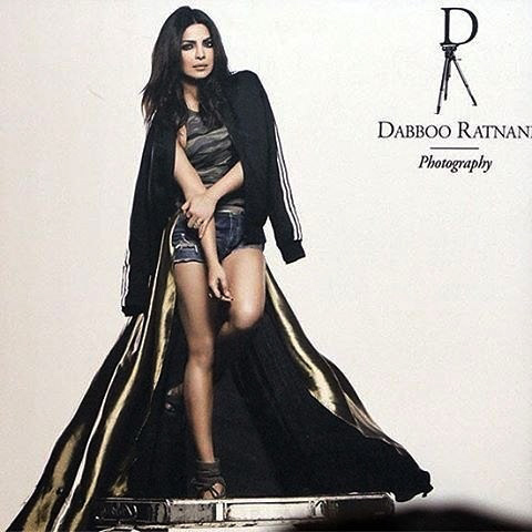 Priyanka Chopra Photoshoot For Dabboo Ratnani Calendar 2017