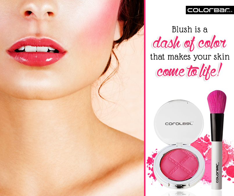 Colorbar Cheek illusion Blush Compact