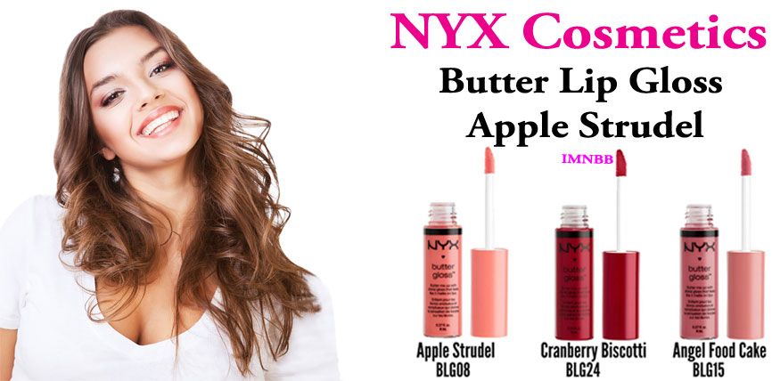 NYX Cosmetics Butter Lip Gloss Apple Strudel