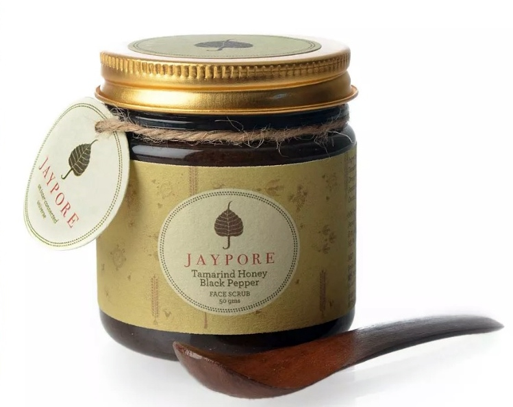 Tamarind Honey Black Pepper Face Scrub by Jaypore