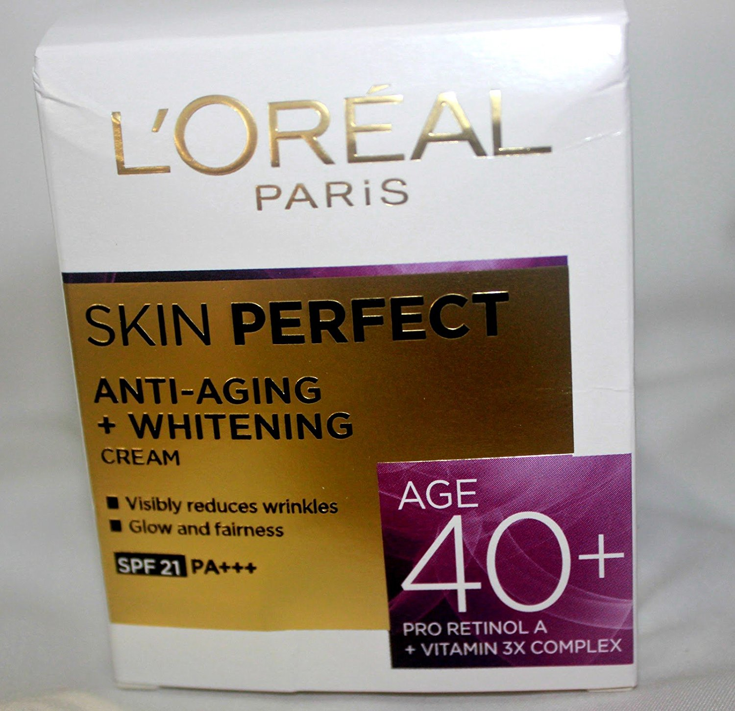 L'Oreal Paris Skin Perfect Age 40+ Day Cream