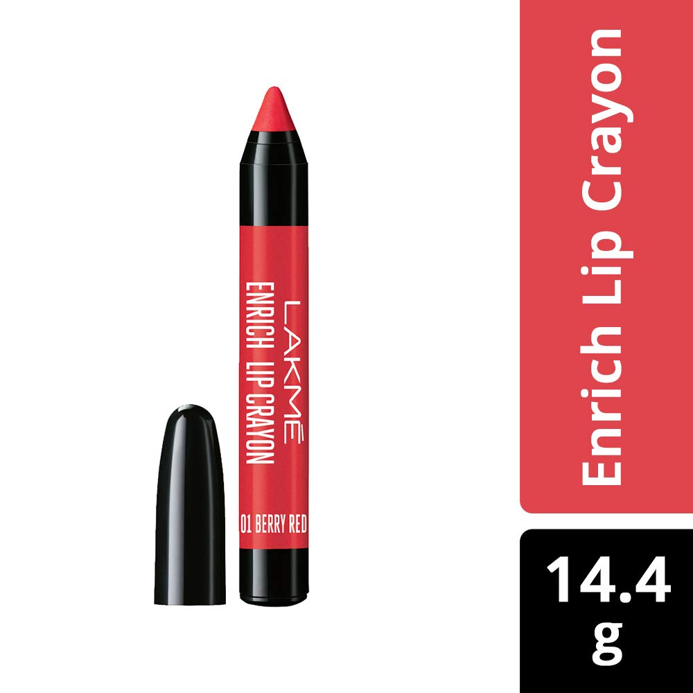 Lakmé Enrich Lip Crayon Berry Red