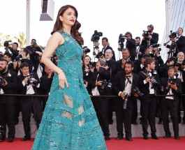 Aishwarya Rai Bachchan walk Down The Cannes 2015 Red Carpet
