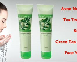 Avon Naturals Tea Tree Oil and Green Tea Purifying Face Wash Review