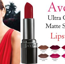 Avon Ultra Color Matte Shades Lipstick Review