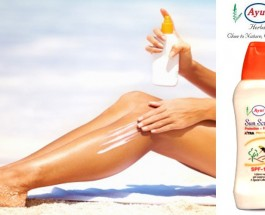 Ayur Sunscreen Lotion SPF 15 Review