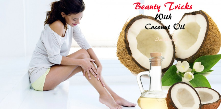 6 Amazing Beauty Tricks With Coconut Oil