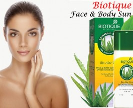 Biotique Face & Body Sun Lotion SPF 30 Review