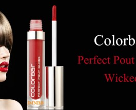 Colorbar Perfect Pout Gloss Wicked Review