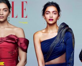 Deepika Padukone Elle Magazine 2016 December Photoshoot
