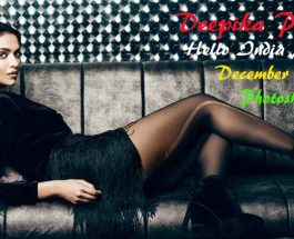 Deepika Padukone Hello Magazine India 2016 December Photoshoot